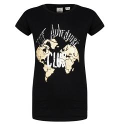 Zwart t-shirt Club