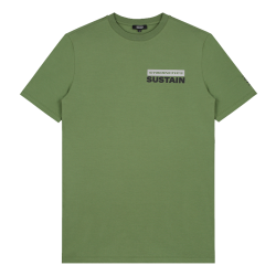 Groen t-shirt Cybernetic