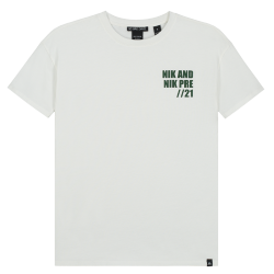Wit t-shirt Dave