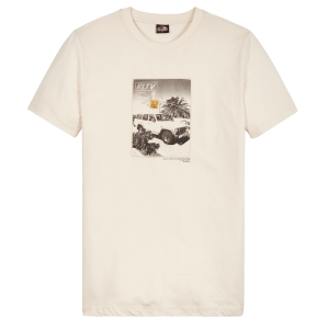 Ivoorwit t-shirt Deliver
