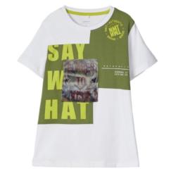 Wit t-shirt Dest