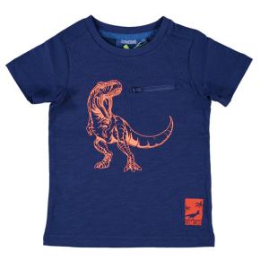 Donkerblauw t-shirt Dinos