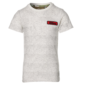 Wit geprint t-shirt Fabian