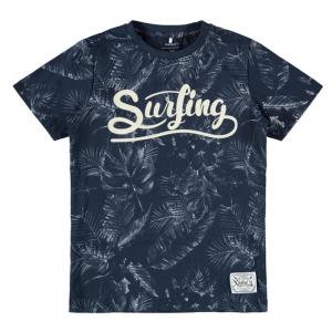 Donkerblauw t-shirt Falkberg