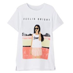 Wit t-shirt Fasigne