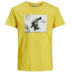 Geel t-shirt Feed