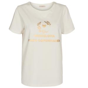Wit t-shirt Fenja Elma