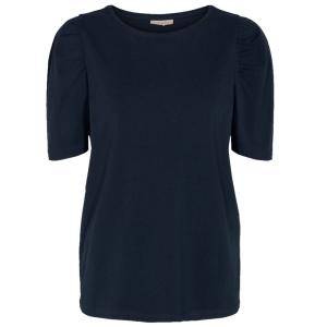 Donkerblauw t-shirt Fenja Puff