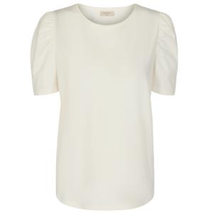 Wit t-shirt Fenja Puff