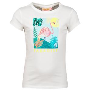 Wit t-shirt Fleo