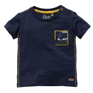 Donkerblauw t-shirt Gael
