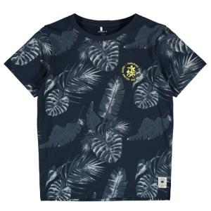 Donkerblauw t-shirt Hachem