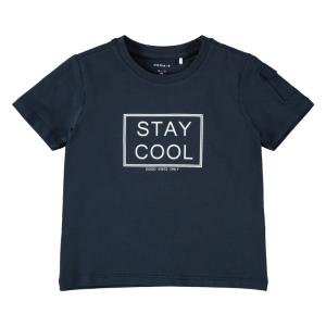 Donkerblauwe t-shirt Hannifal