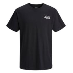 Zwart geprint t-shirt Hike