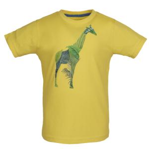 Geel t-shirt Kenya