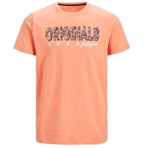 Oranje t-shirt Lefo Placement