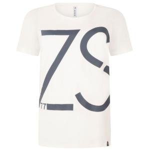 Wit geprint t-shirt Natas