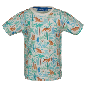 Beige geprint t-shirt Rajah