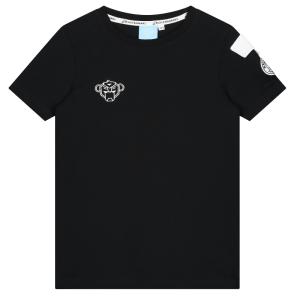 Zwart met wit t-shirt Rank