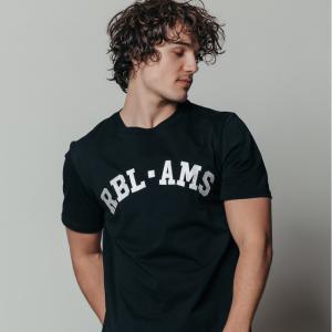 Zwart t-shirt RBL AMS Basic