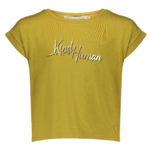 Olijfgroen t-shirt Sally