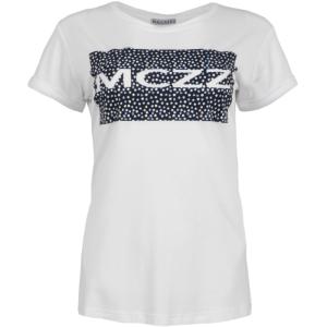 Wit geprint t-shirt Sira