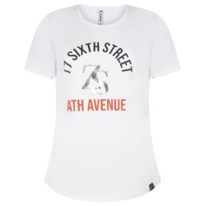 Wit t-shirt Sixth