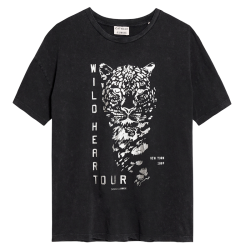 Donkergrijs t-shirt Wildheart