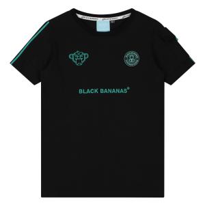 Zwart met aqua t-shirt Unity