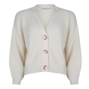 Witte cardigan Short