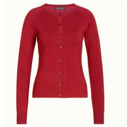 Rood vest Cardi Droplet - MAAT XL
