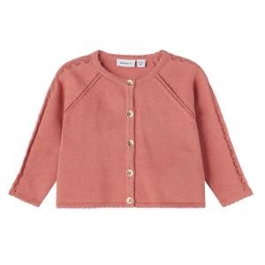 Roze knit vest Hilia
