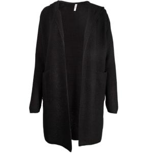Zwart comfy vest Walker