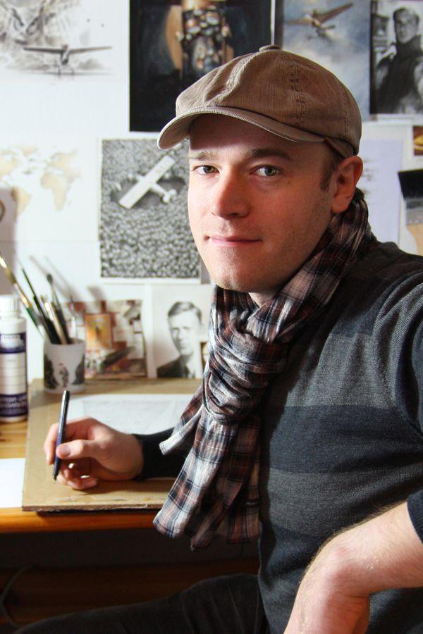 Немецкий автор и иллюстратор Торбен Кульманн