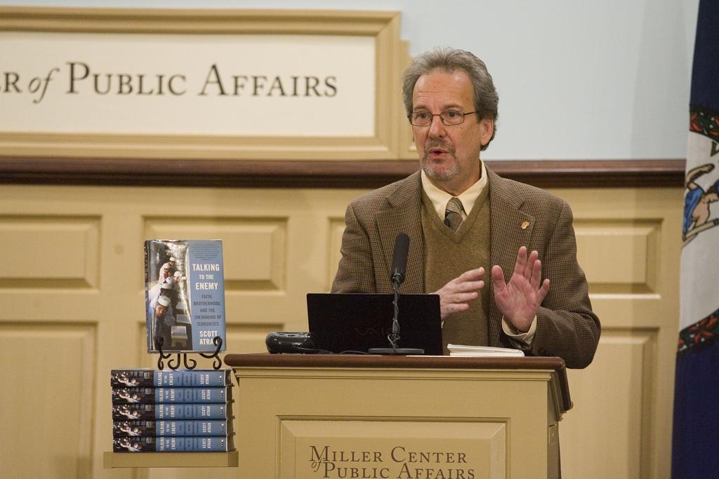 Скотт Атран, автор книги Разговаривая с врагом