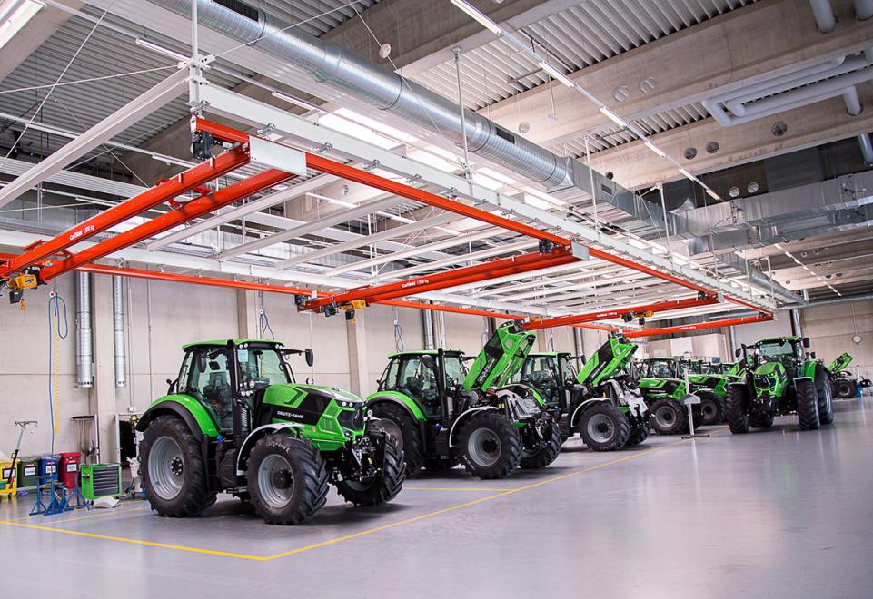 Neues Traktorenwerk in Lauingen