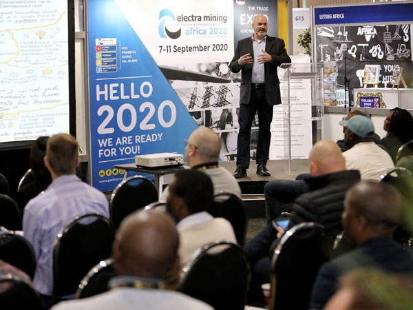 Carl Stahl at the Electra Mining Southafrica 2018