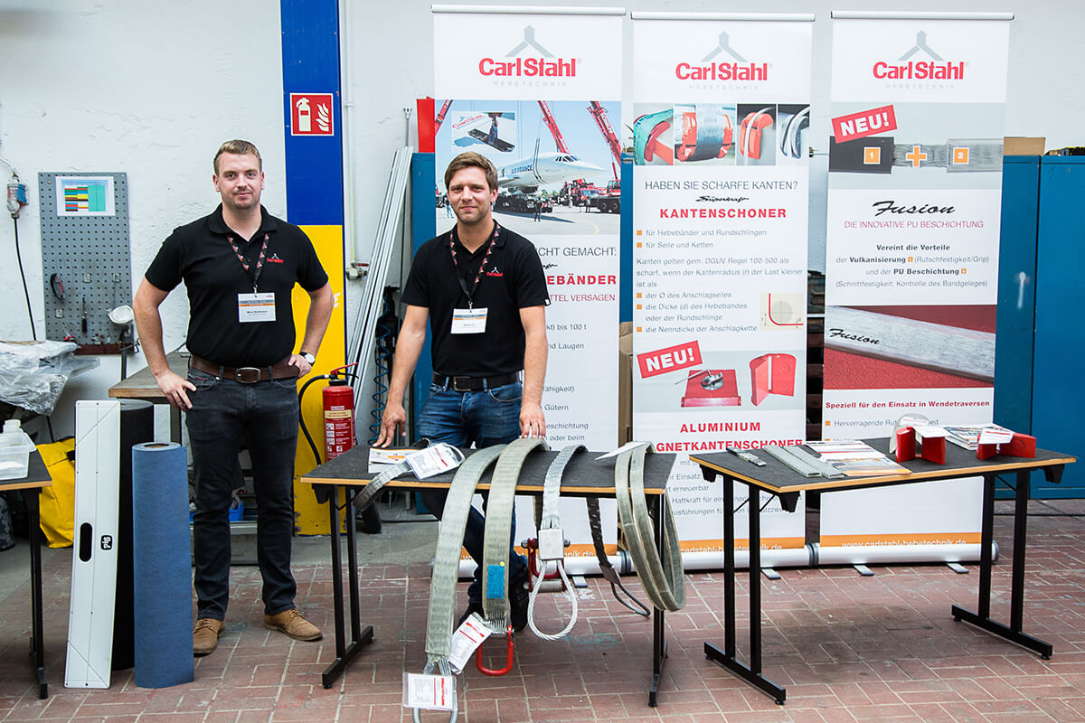 Review of Customer Active Day 2018 of Carl Stahl Nord GmbH