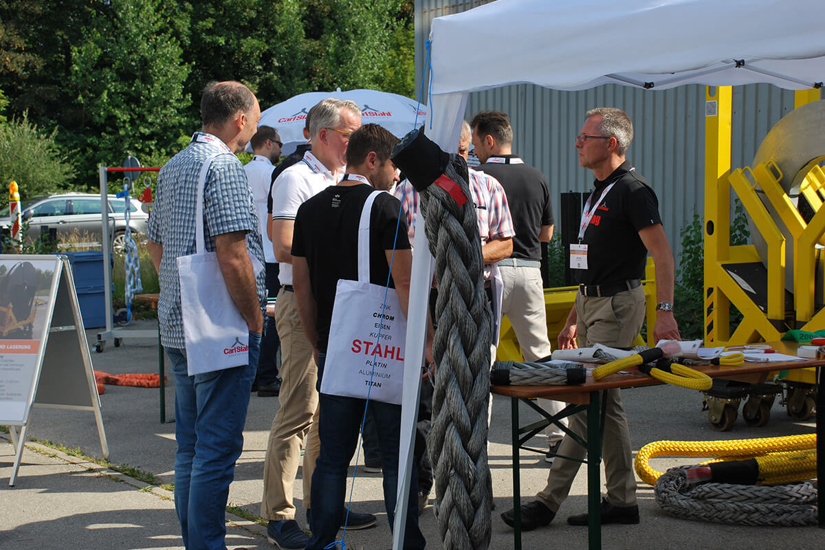 Review of Customer Active Day 2018 of Carl Stahl Süd GmbH