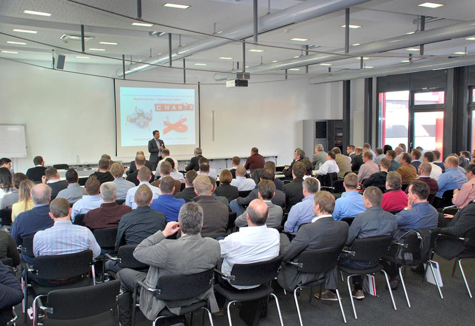 Verkäuferkonferenz 2017 der Carl Stahl Hebetechnik GmbH