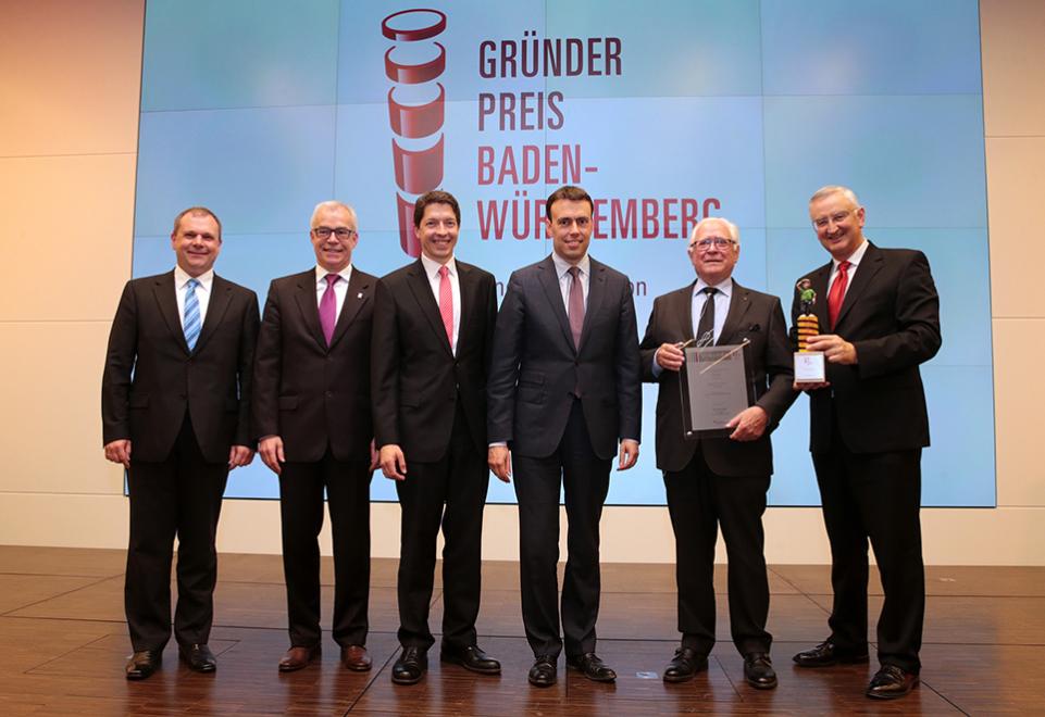 Gründerpreis Baden-Württemberg 2015 der Sparkassen-Finanzgruppe