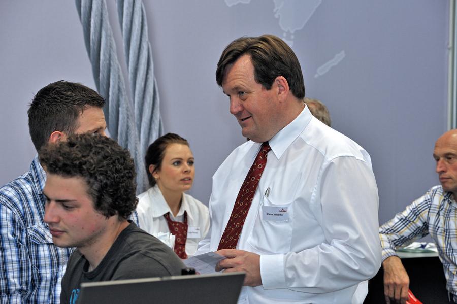 Carl Stahl präsentiert neuen Prüfserviceprozess auf AMB