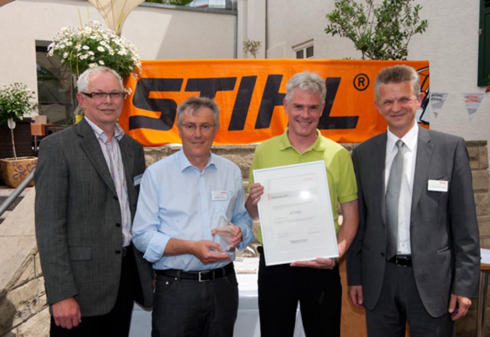 Stihl zeichnet Carl Stahl als Top-Lieferant aus