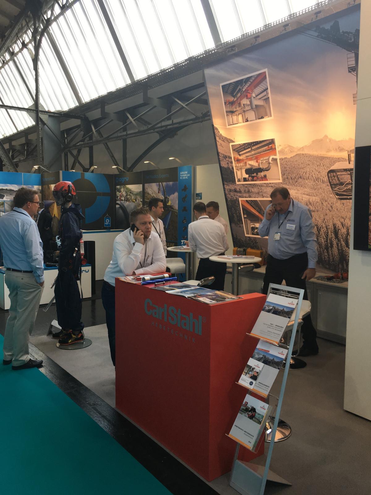 Carl Stahl at Interalpin 2019 - A trade fair follow-up report