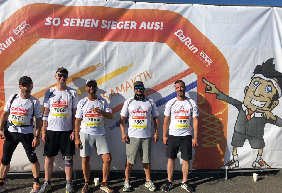 Get off the office chair, get in your sports shoes - Carl Stahl at the 2019 B2B Run in Nuremberg