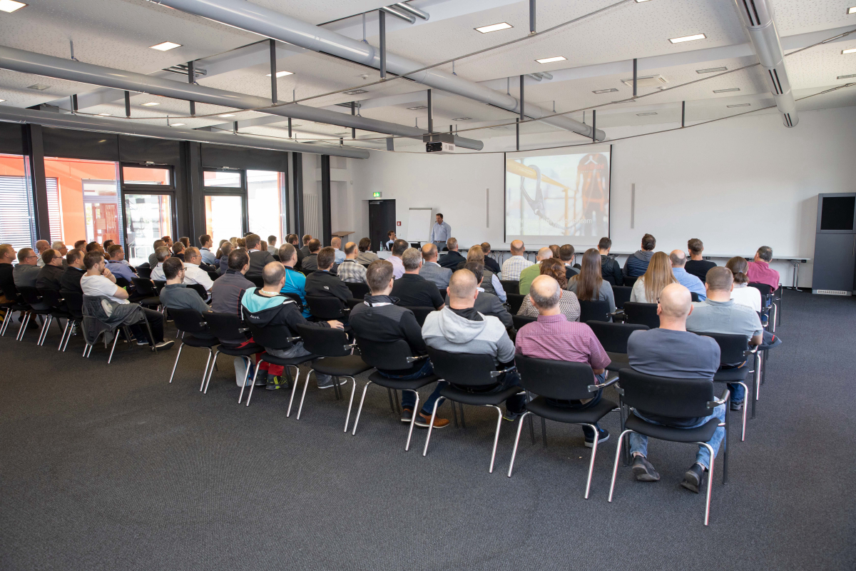 In safety at the workplace - Carl Stahl Safety Day 2019