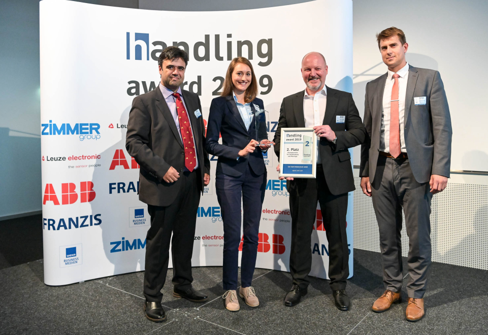 handling award 2019 - Carl Stahl Hebetechnik GmbH wins 2nd prize for Quick Link CLEH