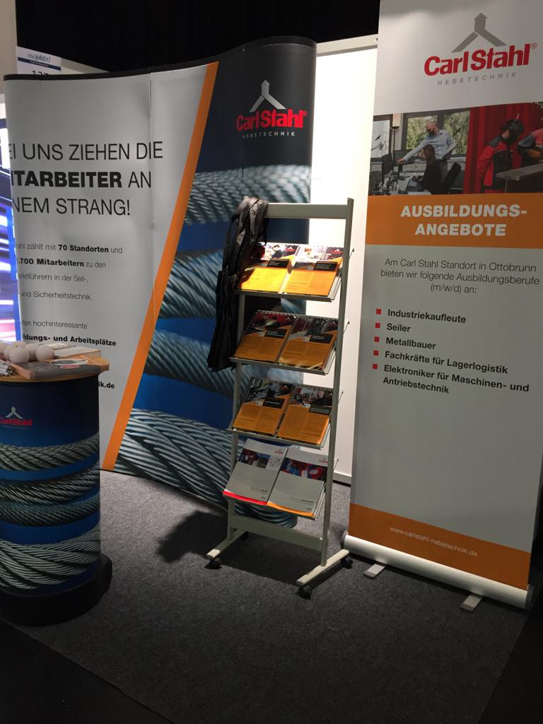 Carl Stahl at the IHK JobFit in Munich - A trade fair follow-up report