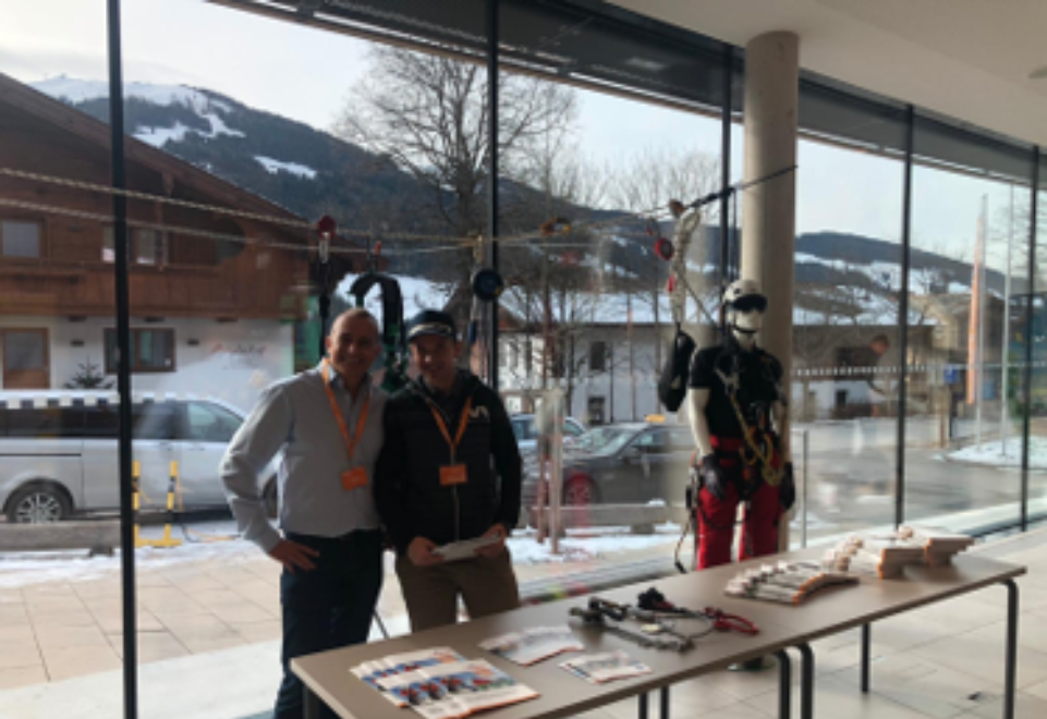 Carl Stahl at the 51st Training Week of the Austrian Master Woodworkers and Carpenters - A trade fair report