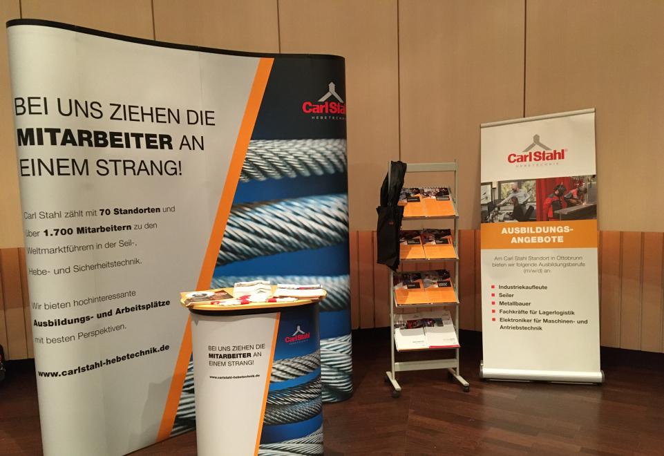 Null-acht 12 statt 0815 - Carl Stahl Süd GmbH auf dem Job-Event in Taufkirchen